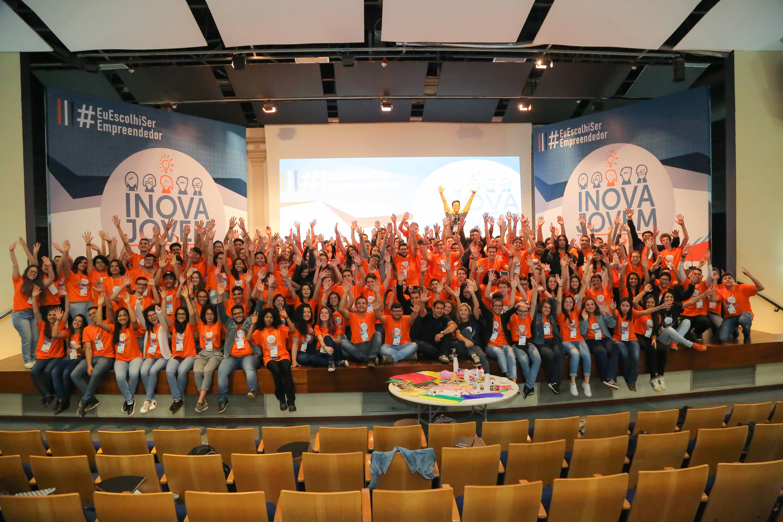 Pessoas presentes no Workshop Inova Jovem 2018