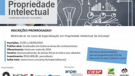 noticia inova - especialização em propriedade intelectual
