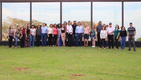 Equipe Inova Unicamp em frente ao prédio novo