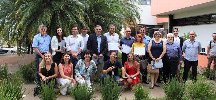 Foto de mentores da Inova Unicamp com Agência 2018