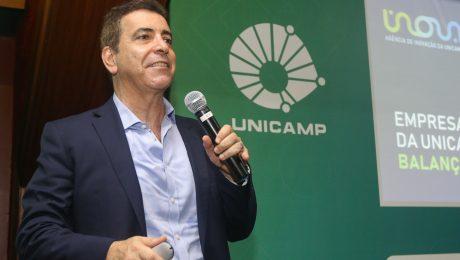 Prof. Newton Frateschi, diretor-executivo da Inova Unicamp, durante o 14º Encontro Unicamp Ventures