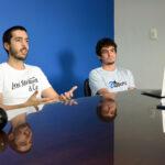 Fundadores da empresa-filha da Unicamp, GoBots