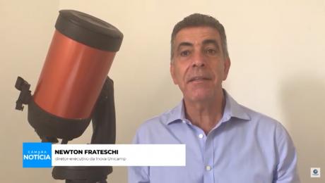 professor newton frateschi na tv câmara campinas