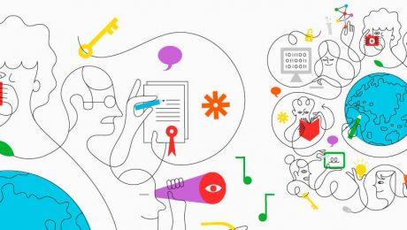 Ilustração em comemoração ao dia da propriedade intelectual