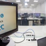 Foto de uma tela de computador com os logos das empresas Idea! e PITEC