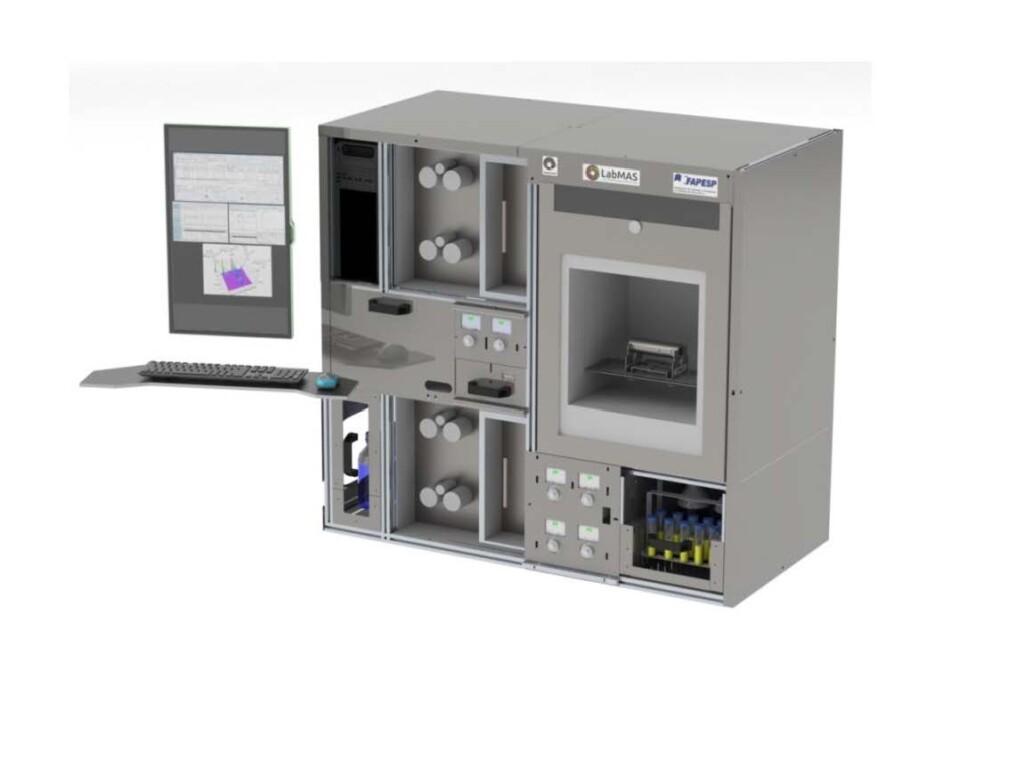 O sistema bidimensional desenvolvido na Unicamp simplifica análises complexas de matérias-primas e pode ser usado para bioprospeção.