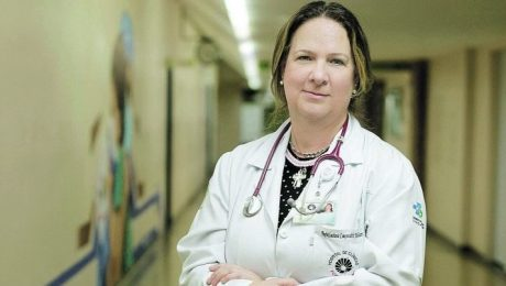 Dra. Luciana Palhares no Hospital de Clínicas da Unicamp